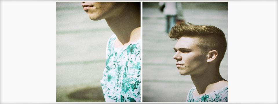 Męska stylizacja i t-shirt by GD